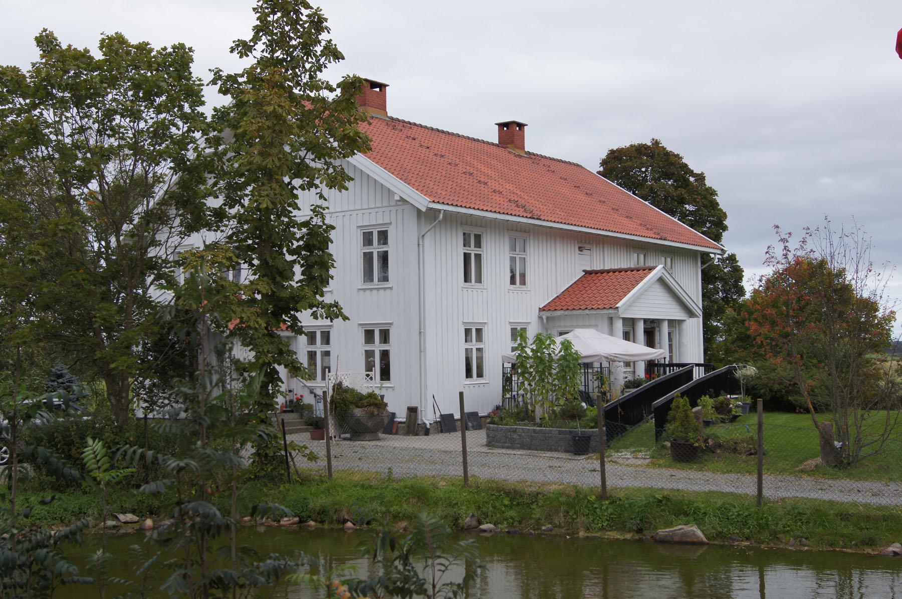 Våningen på Nedre Fjælstad gård